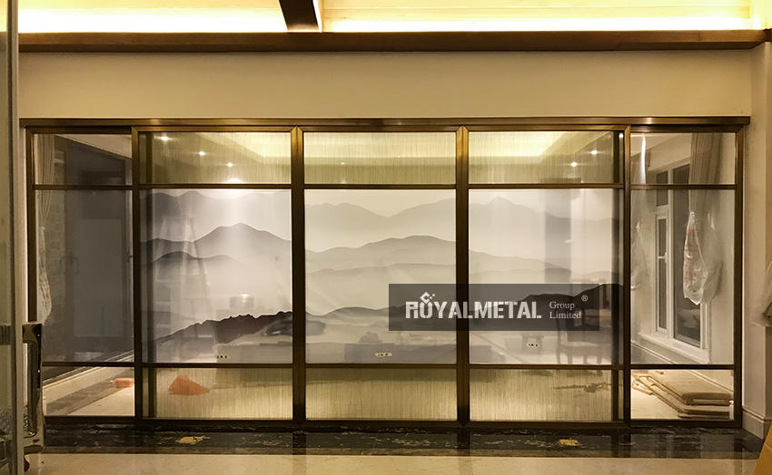 New Chinese screen /stainless steel screen/movable screen