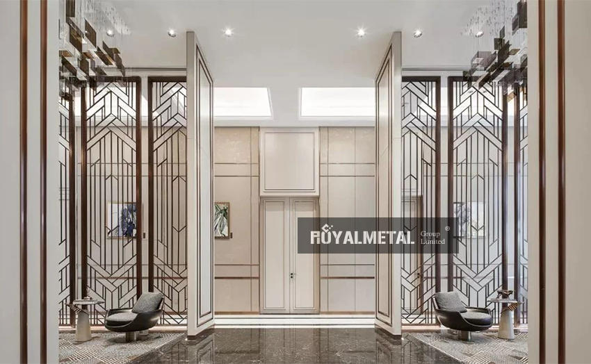 Stainless steel engrave partition/Etched divider