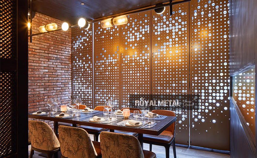 Electroplating partition/Stainless steel screen