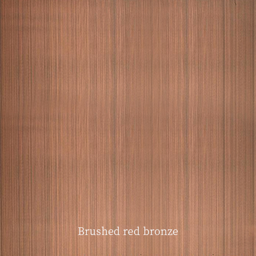 Brushed-red-bronze