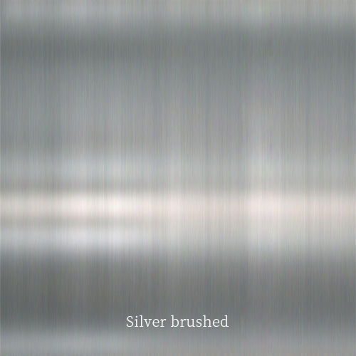 Silver-brushed
